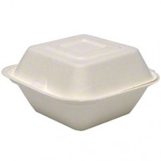 ClamShell /  Sandwich Boxes - 6*6*3 - 50 Count