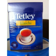 Tetley Elaichi Tea - 1 Box (72 Bags)