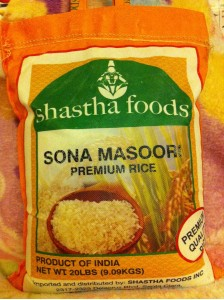 Shasta Ponni Raw Rice - (20 Lbs)